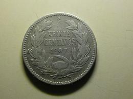 Chile 20 Centavos 1907 Silver - Chili