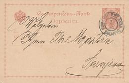 Bosnie Entier Postal Sarajevo 1897 - Bosnien-Herzegowina