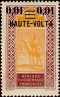 HAUTE-VOLTA - Dromadaire (Camelus Dromedarius) Avec Cavalier - Upper Volta (1958-1984)