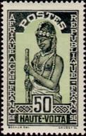 HAUTE-VOLTA - Femme écrasant - Upper Volta (1958-1984)