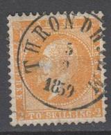 Norwegen 1857 , Nr 2 Gestempelt - Used Stamps