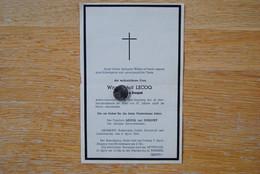 4895/Witwe Adolf LECOQ Geb Maria DOSQUET Libomont Robertville Ovifat Sourbrodt Outrewarche 1944 - Décès