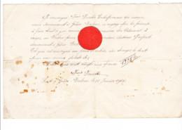 GRÂCE - BERLEUR - Lot De 2 Devis De L'entrepreneur François Ferrette Et Jean Piron En 1905 Et 1906 - Unclassified