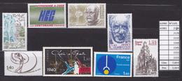 ANNEE 1981 SPLENDIDE TIMBRES DE LUXE FRANCE LOT DE 8 T NEUF (**) SANS TRACE DE CHARNIERE CÔTE 7.00 € Y&T A SSAISIR!!!!!! - Unused Stamps