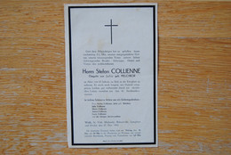 4898/Stefan COLLIENNE-Julia Melchior WALK-St-VITH-MALMEDY-ROBERTVILLE-LONGFAYE-OVIFAT 1943 - Décès