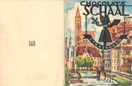 PETIT CALENDRIER CHOCOLAT SCHAAL  STRASBOURG 1951 - Small : 1921-40