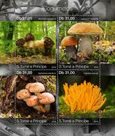 Sao Tome  2019 Mushrooms  S201912 - Sao Tome And Principe
