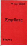 REF TMB : Dépliant Promotionnel Ancien Suisse Switzerland Schweiz ENGELBERG (vers 1910) - Dépliants Touristiques
