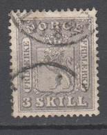 Norwegen 1867 , Nr 7 Gestempelt - Used Stamps