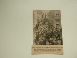 """Origineel Knipsel ( D 725 ) Uit Tijdschrift """" Ons Volk """" 1924 :   Temsche   Temse - Unclassified"""
