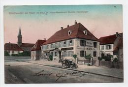 - CPA Bitschweiler Bei Thann (Bitschwiller-lès-Thann / 68) - Hôtel-Restaurant Camille Hansberger 1914 - Verlag J. Kuntz - Altri Comuni