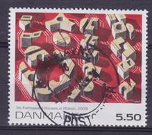 Denmark 2009 Mi. 1538    5.50 Kr Kunst Art Häuser In Bewegung Gemälde Von Jes Fomsgaard Deluxe Cds. !! - Usado