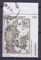Denmark 2009 Mi. 1534    5.50 Kr Old Danish Map Alte Landkarte M. Rand W. Margin - Usado