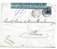 Egy248 / ÄGYPTEN - M. Kolosse (10 M) 1916 Nach Bern (Schweiz) Passed By Censor Nr. 6) - 1915-1921 British Protectorate