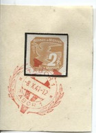 Böhmen Und Mähren 8.10.41 Sonderstempel 63 Briefstück, Tabor Viktoria - Briefe U. Dokumente