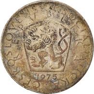 Monnaie, Tchécoslovaquie, 5 Korun, 1975, TTB, Copper-nickel, KM:60 - Czech Republic