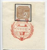 Böhmen Und Mähren 17.10.41 Sonderstempel 67 Briefstück, Königgrätz Viktoria - Briefe U. Dokumente