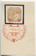 Böhmen Und Mähren 2.8.41 Sonderstempel 68 Briefstück, Brünn Viktoria - Briefe U. Dokumente