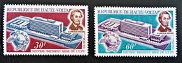 SIEGE DE L'U.P.U 1970 - NEUFS ** - YT 216/17 - MI 295/96 - Upper Volta (1958-1984)