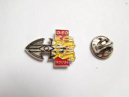 Beau Pin's En Relief , DED Rouen , Lion Héraldique , Normandie , D.E.D , Signé ASCEL - Città