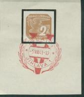 Böhmen Und Mähren 5.8.41 Sonderstempel 69 Briefstück, Iglau Viktoria - Briefe U. Dokumente