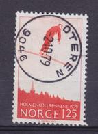 Norway 1979 Mi. 791     1.25 (Kr) Skisprungen Holmenkollen Deluxe OTEREN Cancel !! - Gebraucht