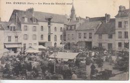 FRANCIA - EVREUX - Leggi Testo, Mercato, Animata, Viag.1919 - M-21-148 - Sonstige