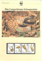 Gambia 1993 - WWF Das Langschwanz-Schuppentier - Komplettes Kapitel Postfrisch MK FDC - Unclassified