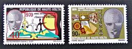 UNESCO 1970 - NEUFS **- YT 218/19 - MI 293/94 - Upper Volta (1958-1984)
