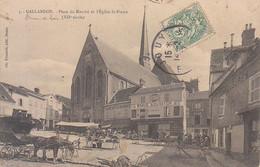FRANCIA - GALLARDON - Mercato, Animata, Viag.1907 - M-21-151 - Sonstige