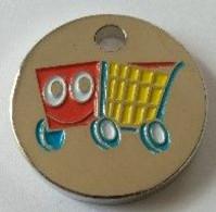 Jeton De Caddie - Caddie - (G.B.) - En Métal - Neuf - - Trolley Token/Shopping Trolley Chip
