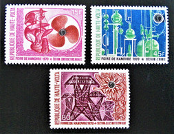 FOIRE DE BOUAKE 1970 - NEUFS ** - YT 220/22 - MI 301/03 - Upper Volta (1958-1984)