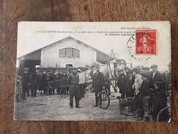 LA CLAYETTE (Aviation Des 7,8,9 Avril 1912 -Sortie D'un Appareil - Meetings