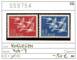 Norwegen - Norway - Norvege - Norge - Michel 406-407 - ** Mnh Neuf Postfris - CEPT - Unused Stamps