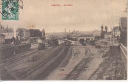 FRANCIA - LUNEVILLE - Gare, Animata, Viag.1908 - M-21-154 - Sonstige