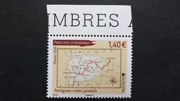 Andorra Frz. 864 **/mnh, EUROPA/CEPT 2020, Historische Postrouten - Nuevos