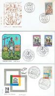 Algérie Lot De 6 FDC Premier Jour Différents (de 1966 à 1968) - Argelia (1962-...)