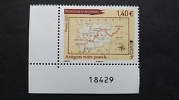 Andorra Frz. 864 **/mnh, EUROPA/CEPT 2020, Historische Postrouten - Ungebraucht