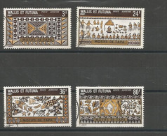 58/60  Motifs De Tapa (boitsornc) - Used Stamps