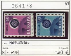 Norwegen - Norway - Norvege - Norge - Michel 555-556 - ** Mnh Neuf Postfris - CEPT - Unused Stamps