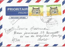 BENIN Enveloppe Avec Timbres N° Y&T 1034  (N°54) - Benin – Dahomey (1960-...)