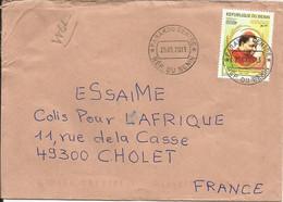 BENIN Enveloppe Avec Timbre N° Y&T 1212  (N°52) - Benin – Dahomey (1960-...)