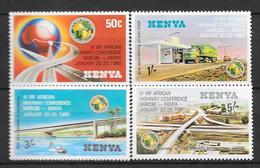 Kenya N° 155/58 Yvert NEUF * - Kenya (1963-...)