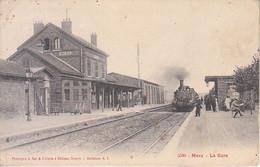 FRANCIA - MERU - Gare Et Train, Animata, Viag.1905 - M-21-157 - Sonstige
