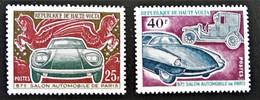 SALON AUTOMOBILE DE PARIS 1970 - NEUFS ** - YT 229/30 - MI 310/11 - Upper Volta (1958-1984)