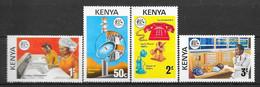Kenya N° 54/57 Yvert NEUF * - Kenya (1963-...)