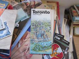 Metropolitan Toronto And Region - Dépliants Touristiques