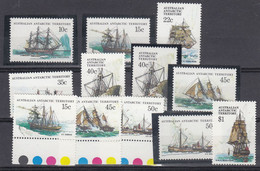 AAT 1979 Definitives / Ships 12v (see Scan) ** Mnh (51988) - Unused Stamps