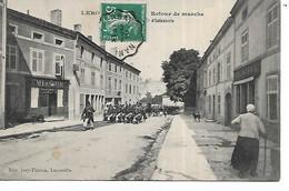 55 - LEROUVILLE - Retour De Marche ...  (Animée - Café Du Centre Et Boulangerie) - Lerouville