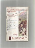 Vieux Papiers Guide Touristique  Syndicat D'initiative De Clermont Ferrand 1919 - Dépliants Touristiques